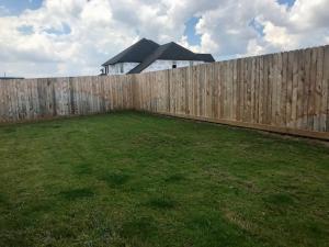 backyard landscape before houston tx 77407