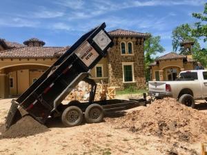 backyard landscape supply delivery mulch houston tx 77407