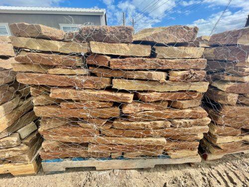 Flagstone Paver Moss Rock Natural Stone Houston, TX 77099