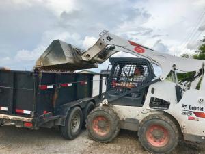 landscaspe supply store truckload gravel houston tx 77407