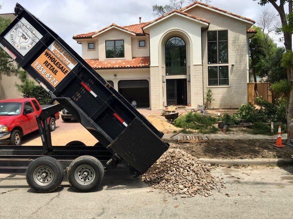 Landscape Supply Delivery Gravel