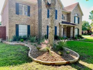 Front Yard Landscaping Houston Tx Texas Garden Materials