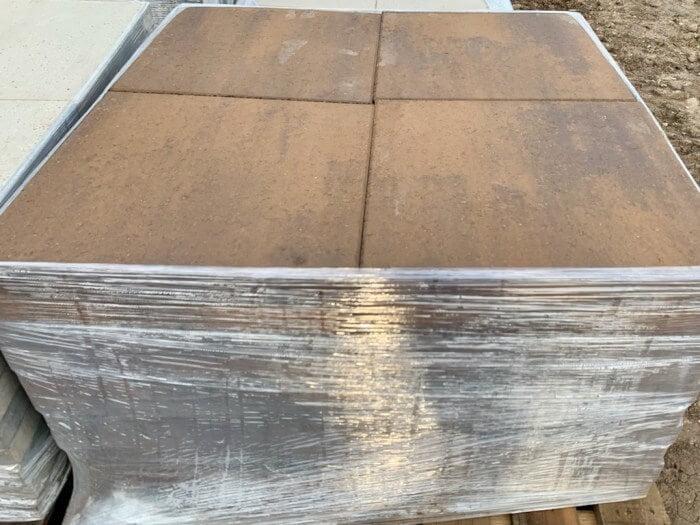 20x20 Concrete Pavers Antique Brown Paver Houston, TX