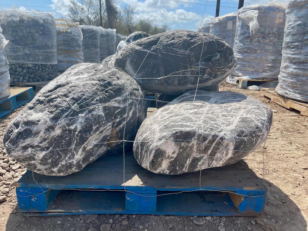 Landscape Boulders Gray Rocks Houston, TX 77099